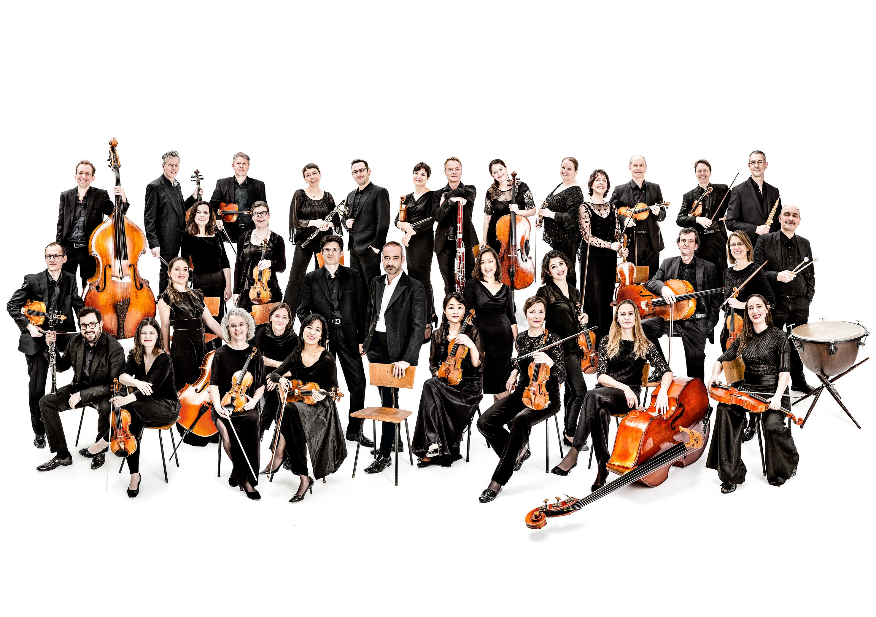 Kammerakademie Potsdam, Orchesterbild ©Beate Wätzel