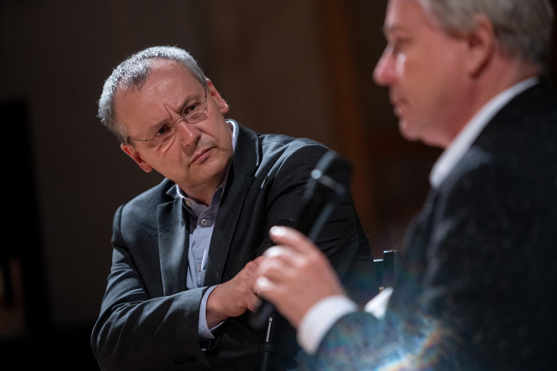 Knut Elstermann und Georg Quander